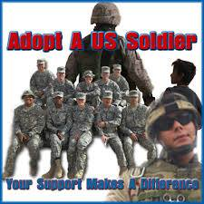 Adopt A Soldier Army, Navy, Air Force, Marines, Deployed Soldier, Afghanistan, Iraq,