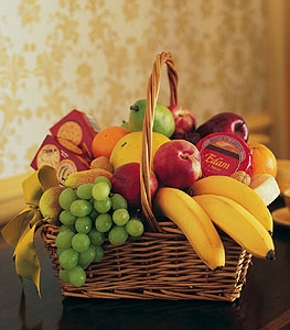 Condolence Fruit Basket