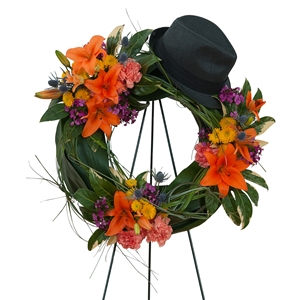 Remembering the Good Times Wreath - As Shown (Deluxe)