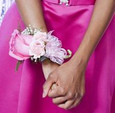 Pink Promise Upper Dublin High School, Wissahickon High School, Prom Flowers, Corsage, rose