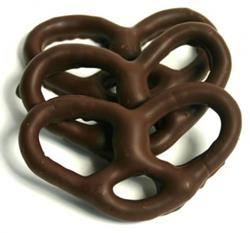 Chocolate Pretzels Half Pound ashers chocolate covered pretzel gift