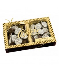Chocolate Nonpareils Half Pound ashers chocolate non pariels ambler 19002 candy