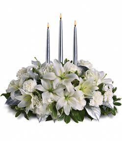 White Lilly Centerpiece