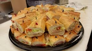 Hoagie Tray & Salads for ten people