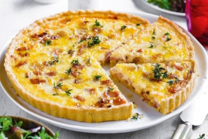 Quiche and Salad Combo